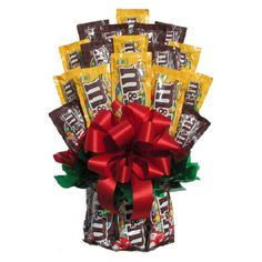 Buy All M&M™ Candy Bouquet: Tons of fun-sized and full-sized packages. View ratings, reviews or browse similar Gift Baskets by Occasion at Hayneedle.