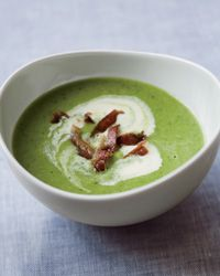Daniel Boulud's Chilled Spring Pea Soup #yum