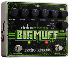 Classic Bass Fuzz Pedal with Blend Control, Foot-switchable Crossover, -10dB Pad, Variable Gate, and Three Outputs Including a Buffered Dry and XLR DI