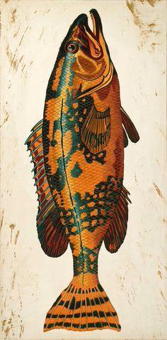 Big Fish by Ira Upin http://www.saatchiart.com/account/artworks/54420