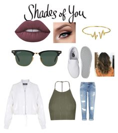 """""""Shades of You: Sunglass Hut Contest Entry"""" by morag-wylie ❤ liked on Polyvore featuring Ray-Ban, Topshop, Miss Selfridge, TIBI, Vans, Lime Crime, Bling Jewelry and shadesofyou"""