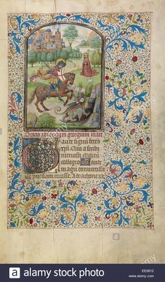 saint-george-and-the-dragon-willem-vrelant-flemish-died-1481-active-EE0612.jpg (812×1390)
