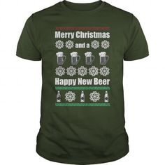 Merry Christmas And Happy New Beer Great Gift For Any Beer Fan Christmas Lover  - Click The Image To Buy This Shirt, Don't forget to share with your friends.     #christmas #xmas #merrychristmas #xmasshirts #xmastees #christmasshirts #christmastees #santaclaus #hoho.  CLICK HRE TO BUY IT => http://mytrendingshirts.com/?p=9882