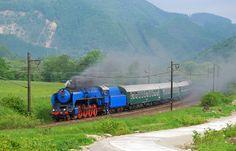 Albatros - vrchol českých parních lokomotiv. Steam Locomotive, Rolling Stock