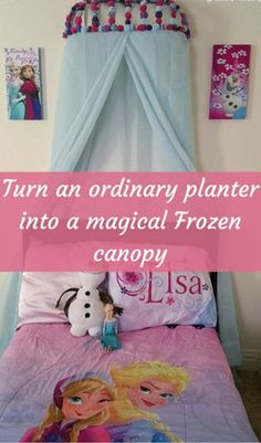 Turn An Ordinary Planter Into A Magical Frozen Canopy