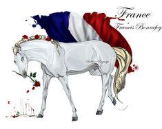Horse Hetalia: France by MUSONART