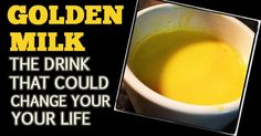 Amazing Turmeric Golden Milk Recipe That Can Change Your Life [VIDEO]