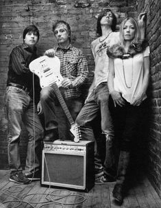 Sonic Youth by Mark Seliger