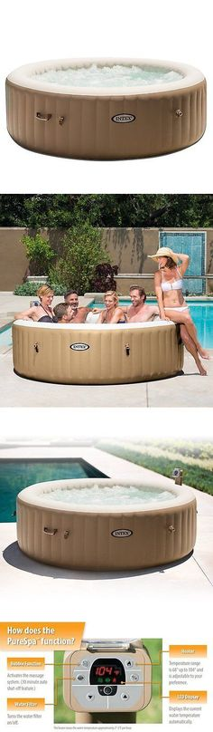 Spas and Hot Tubs 84211: Intex Inflatable Pure Spa 6-Person Portable Heated Bubble Jet Hot Tub | 28407E -> BUY IT NOW ONLY: $499.99 on eBay!