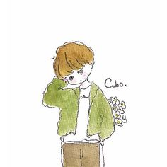Paint Icon, Cute Kawaii Drawings, Anime Child, Pretty Art, Cute Illustration, Doodle Art, Anime Guys, Chibi, Doodles