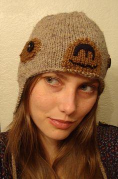 Mano de pereza tejer sombrerobobcathats por bobcathats en Etsy