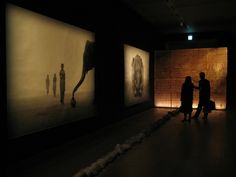 """The first exhibition entitled """"Ashes and Snow"""" was done in the spaces of the Arsenale (Venice, Italy) with about 200 large scale photographs, projections light boxes and a film and was seen by thousands of visitors. After this first success Colbert wished to share the same experience across different locations, and the idea of the Nomadic Museum was born."""