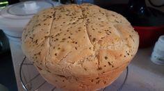 Pan se ajo y orégano en pyrex
