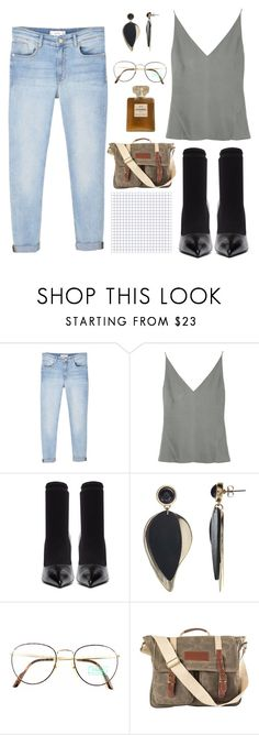 """""""n o v e m b e r"""" by youvegotraye ❤ liked on Polyvore featuring MANGO, J Brand, Balenciaga, John Lewis, Benetton, Cathy's Concepts and Chanel"""
