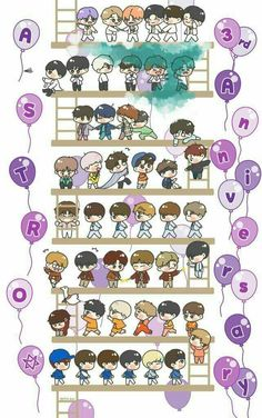 Astro Kpop Group, Dibujos Zentangle Art, Astro Wallpaper, Astro Fandom Name, Cha Eun Woo Astro, Astro Boy, Rainbow Star, K Pop Star, Team Pictures