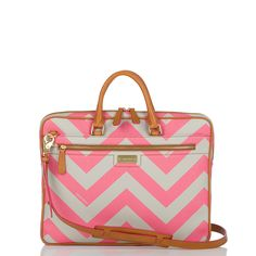 I LOVE IT. Brahmin pink chevron Laptop Case