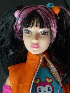 Benetton Osaka barbie doll by kostis1667, via Flickr