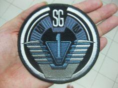 """Stargate SG-1 TEAM UNIFORM Patch 10x10 cm 4"""". $4.80, via Etsy."""
