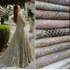 For details / order please dm or Whatsapp on . Pakistani Fashion Party Wear, Pakistani Formal Dresses, Indian Gowns Dresses, Pakistani Wedding Outfits, Pakistani Dress Design, Bridal Outfits, Indian Outfits, Wedding Dresses For Girls, Party Wear Dresses