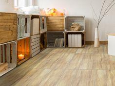 Origins Sandal Wood Beige Matt Porcelain Floor Tile - 280 x 710mm