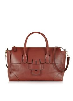 Tila March Zelig City Leather Tote