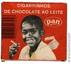 Cigarrinhos de chocolate ao leite - Pan