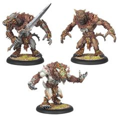 Hordes: Circle - Warpwolf Plastic Kit