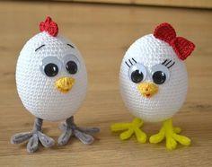 Crochet Easter Chicks and Eggs