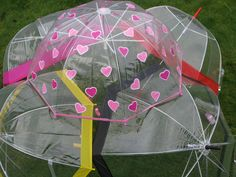 Girl's Reign Dome Brollies / Umbrellas, with hook Handles Childrens Umbrellas, Brollies, Sustainable Clothing, Rain Wear, Reign, Sustainable Clothes, Rain Gear, Royalty