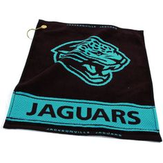 Team Golf Jacksonville Woven Towel