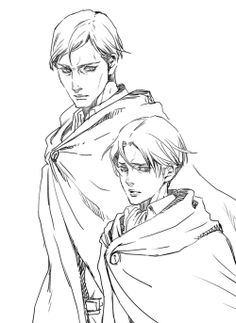 Erwin and Levi || http://www.pixiv.net/member.php?id=4260362 [please do not remove this caption with the source]