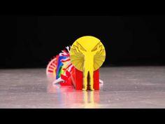 La mejor animación Stop Motion de la historia del universo #CUTOUT