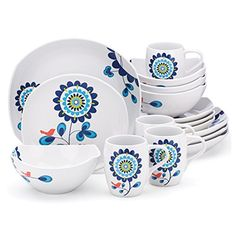 Dansk Classic Fjord Tweet 16 Piece Dinnerware Set Dansk Https://www.amazon