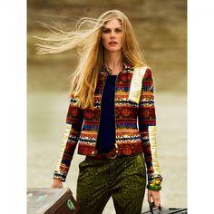 Blouson Glam n°108 de Burda Style Octobre 2014