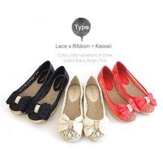 Vanilla Lace x Ribbon 少女系涼鞋 US$29.35