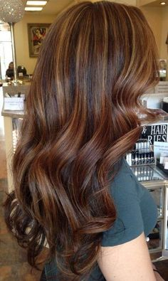 Dark and Light Brown Hair Ideas with Highlights – Best Hair Color Trends 2017 – Top Hair Color Ideas for You
