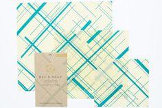 Bee´s Wrap Naturligt och Ekovänligt Folie - S/M/L - Geometric Print Plastic Wrap For Food, Reusable Food Wrap, Diy Beeswax Wrap, Kitchen Wrap, Bees Wrap, Wax Wraps, Sustainable Food, Ark, Food Storage