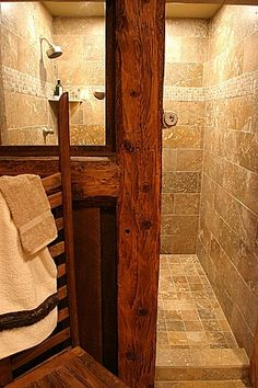 Great Rustic Master Bathroom