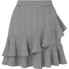 Miss Selfridge Black Gingham Ruffle Mini Skirt African Fashion Skirts, African Dress, Frilly Skirt, Ruffled Skirts, Skirt Outfits, Dress Skirt, Short Skirts, Gingham, Fashion Outfits