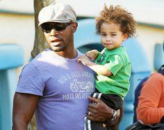 Taye Diggs & son. Cute baby. FINE daddy!