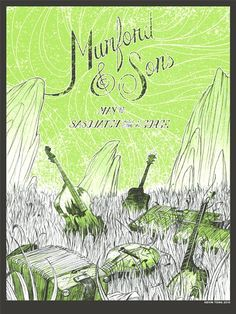 Mumford & Sons Poster by Kevin Tong
