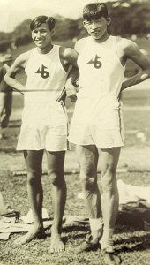 Fun Fact: In the 1936 Olympics, two Japanese pole vaulters and close friends tied for the Silver Medal. Unable to break the tie for 5 hours of fiercecompetition, the two friends had their Silver and Bronze medals cut in half and welded together to form a pair of mixed medals. These became known as the Medals of Eternal Friendship.