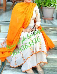 Designer Punjabi Suits Patiala, Punjabi Suits Designer Boutique, Boutique Suits, Indian Designer Suits, Embroidery Suits Punjabi, Embroidery Suits Design, Kurti Designs Party Wear, Kurta Designs, Indian Dress Up