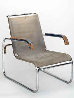 Marcel Breuer, B 35 (1929) - Well used relic from the functionalistic infancy..