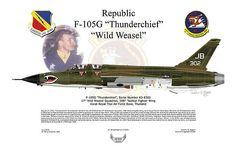 Arthur Eggers - F-105G Thunderchief Wild Weasel