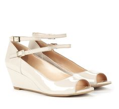 Peep toe wedges - Selina