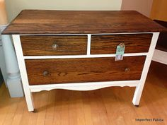 Imperfect Patina: Small Antique Dresser