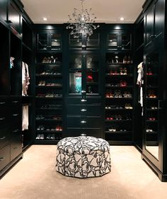 Stylish home: Shoe closets | Lots more here: http://mylusciouslife.com/photo-galleries/architecture-and-design-beautiful-buildings-gardens-and-decor/