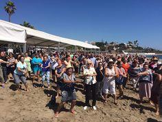 Cerca de 1.500 mayores han disfrutado de las playas del litoral malagueño gracias al III Circuito de Ocio y Playa de la Diputación.