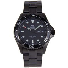 Orient Men's Ray Raven II Automatic Black Stainless MINT 3 Natos for sale online Black Stainless Steel, Stainless Steel Bracelet, Top Watches For Men, Orient Watch, Man Ray, Watches Online, Automatic Watch, Casio Watch, Raven